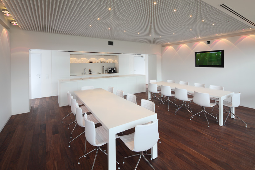 dtb gmbh  I  <b>project:</b> lodges and gastronomy fca arena augsburg