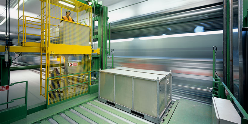 siemens ag &nbsp;I&nbsp; <b>project:</b> baggage conveyance technology, milano cargo airport